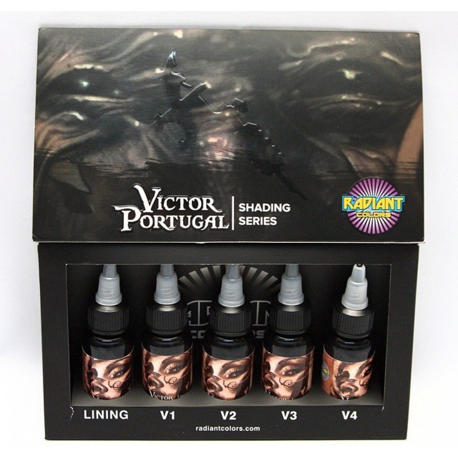 Radiant VICTOR PORTUGAL Shading Series Ink Set