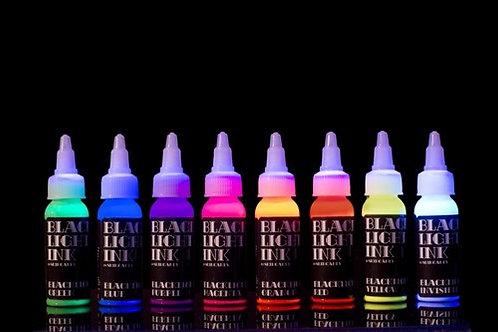Black Light UV Ink - 1 oz (Pick your color)