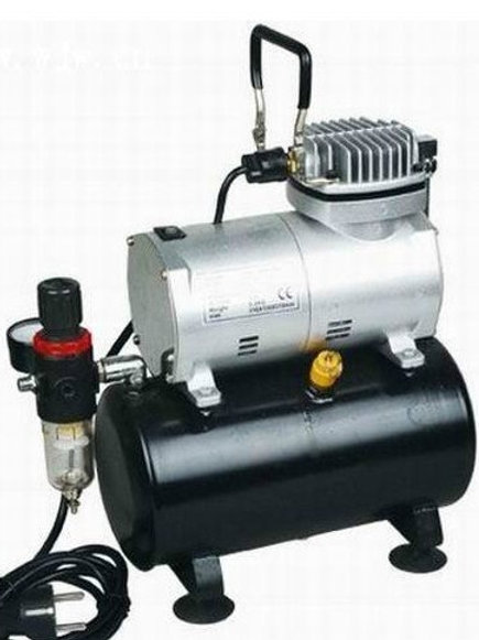 Airbrush Mini Air-Compressor with Tank