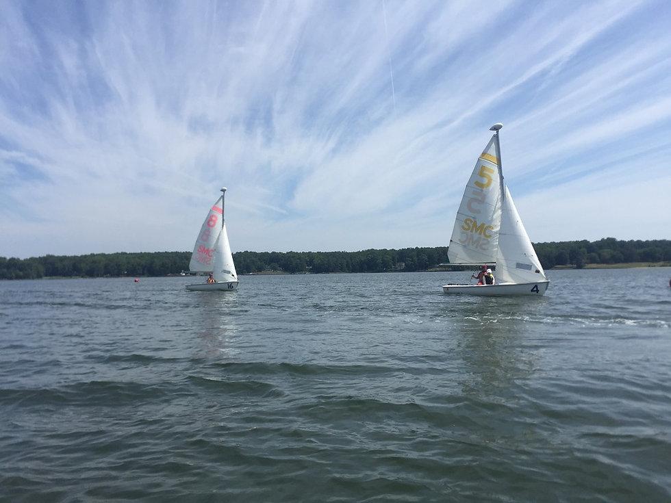 Brendan Sailing Program On the Water