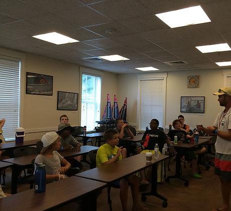 Brendan Instructor Address Classroom