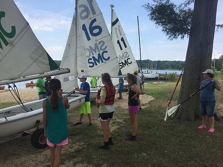 Three Brendan Sailing Program Campers Prepare for Departure