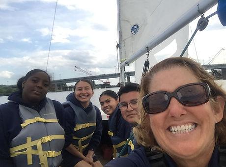 Brendan Sailing Washington DC After School Program