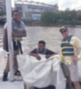 DC Sail Washington DC After School Program with Brendan Sailing 2019
