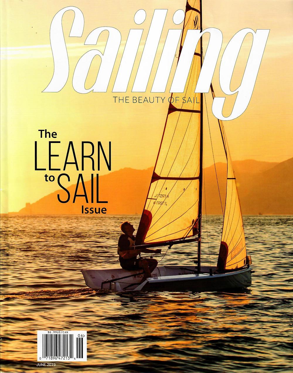 Sailing Magazine June 2019 Issue Cover
