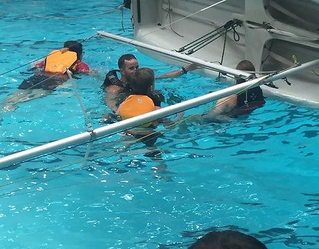 Brendan Training at the Swimming Pool