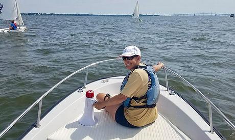 Charlie Arms Executive Director of the Brendan Sailing Program