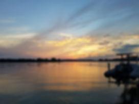 Sunset at Brendan Sailing in Annapolis