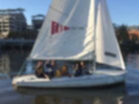 Washington DC Sailing Program After School with Brendan Sailing at DC Sail - Fall 2019