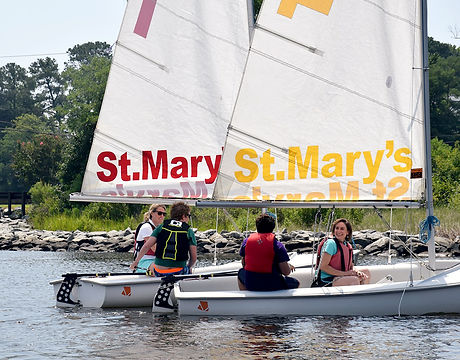 Brendan Sailing Program Parents Sail at St. Mary's College of Maryland