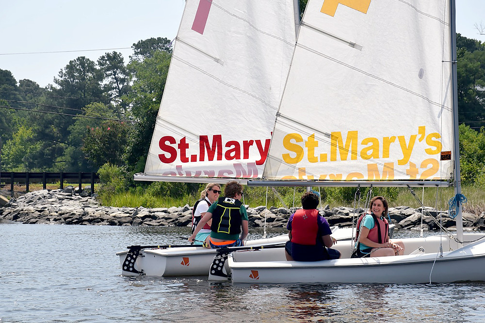 Students invite their Parents to sail with them during the last day of Brendan Sailing's Programs in 2018!