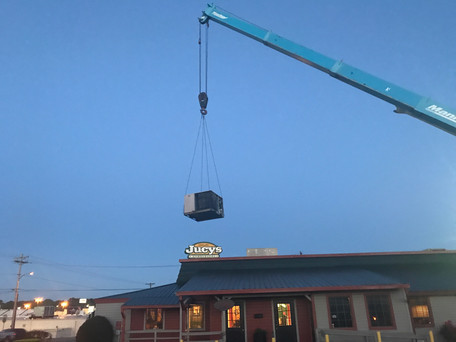 Craning for Cool