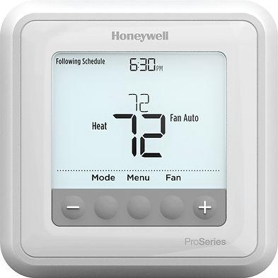 Honeywell T6 Pro themostat, ERA Climate Control, Climate Control, AC units, E.R.A Climate Technologies, Climate Technologies, Tech, Heating, Cooling, Air Filters
