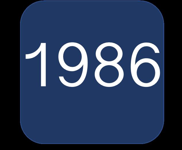 1986 Blue Boat