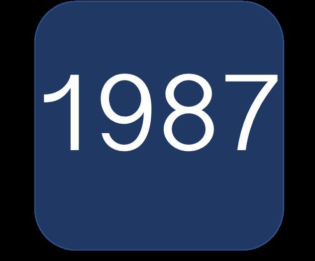 1987 Blue Boat