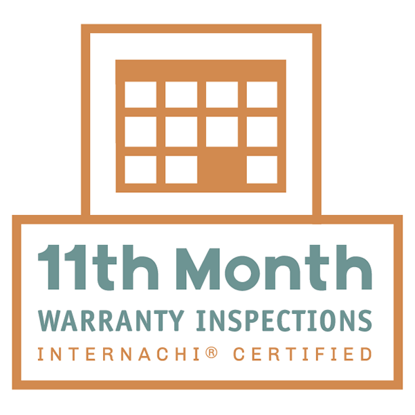 11th month new home warrenty inspections