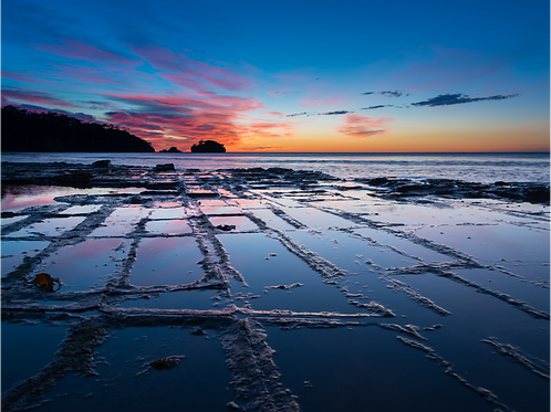 Paul Fleming print Tessellated Pavement
