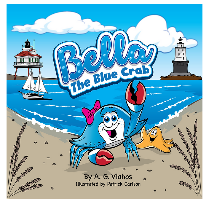 Bella the Blue Crab