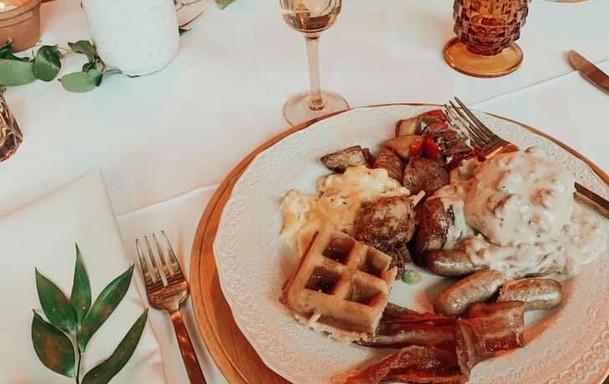 Breakfast for dinner!