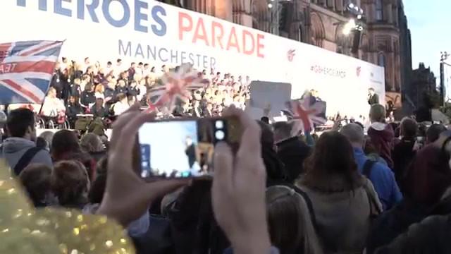 Team GB Homecoming Parade