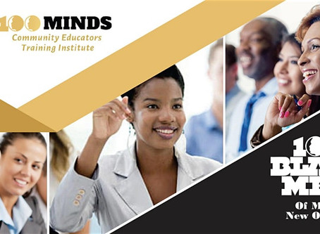 The 100 Minds Community Educators Training Institute