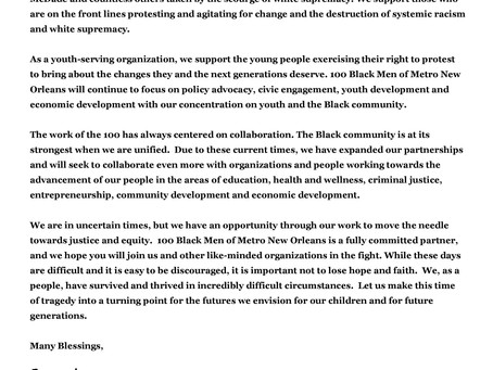 Our statement on recent events and the fight for justice.