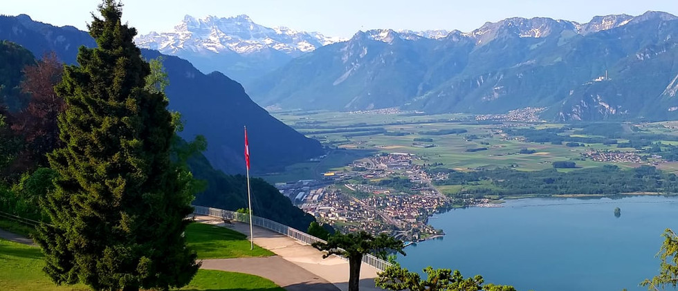 View from the Caux Palace