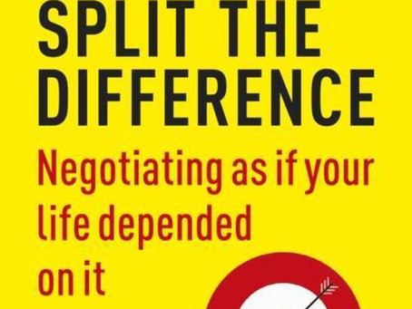 So what do you think of the book Never Split the Difference?