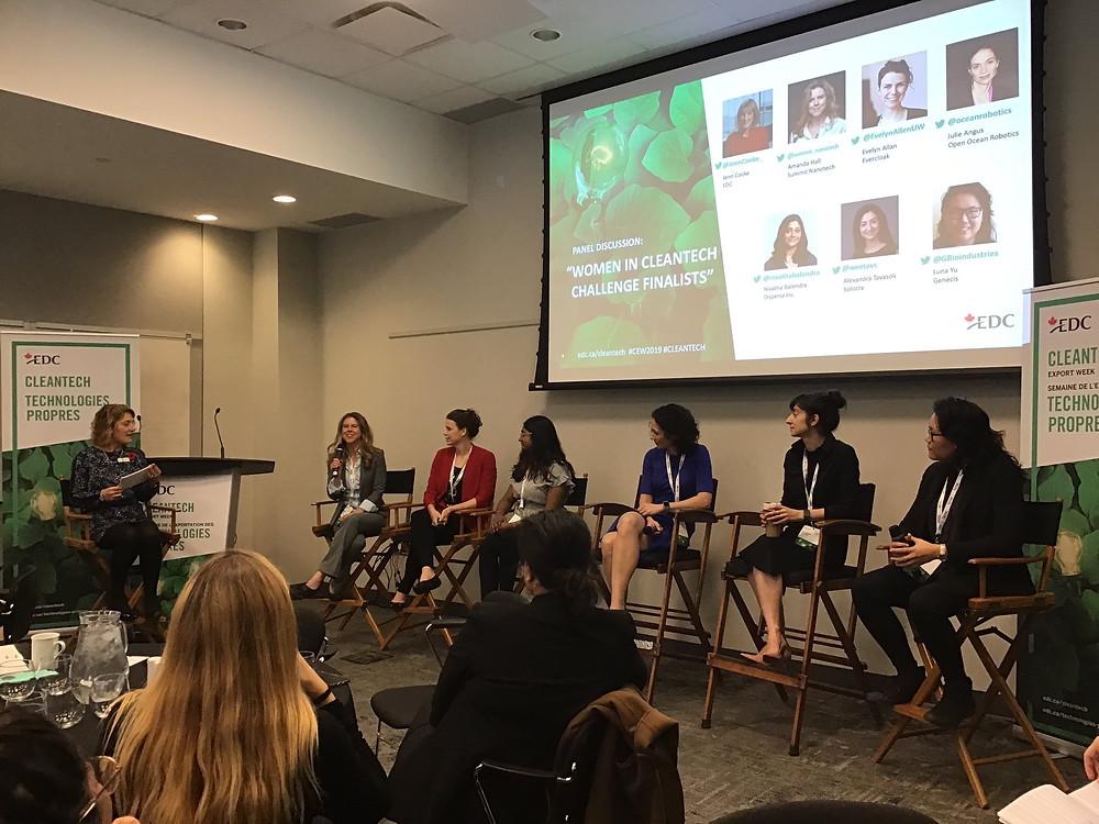 Women in Cleantech Challenge Finalists