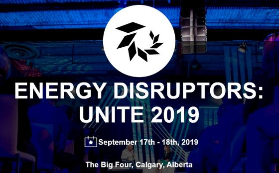 CEO Amanda Hall invited to speak at  Energy Disruptors: Unite 2019