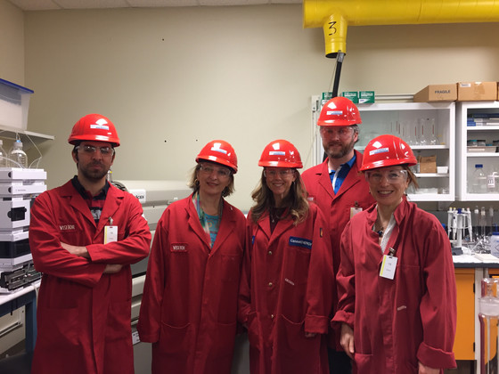 Summit Nanotech Team tours CanmetENERGY Research Center in Devon, Alberta