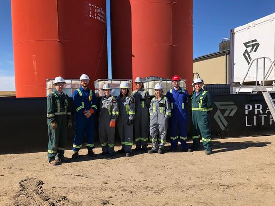 Summit Nanotech Visits Prairie Lithium