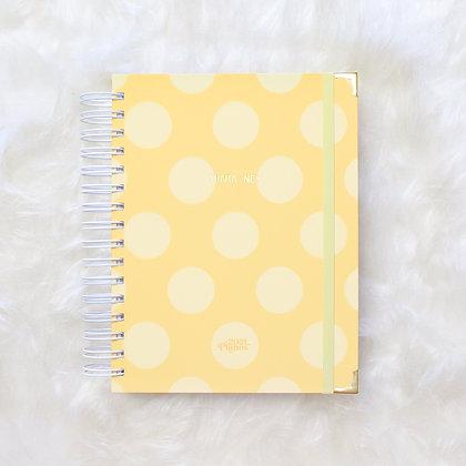 My Ownn Planner  Personalizável    Planos Perfeitos | Amarelo