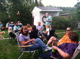 2015 Summer Luau Party