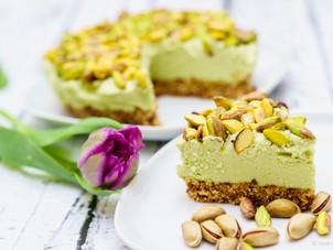 Raw vegan avocado cheesecake