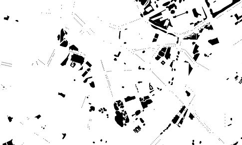 Patricia Sandonis art, digital drawing, Valladolid arte, Mapa natural, arte y naturleza