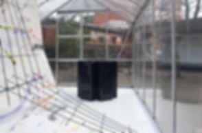 Patricia Sandonis art, Kunst, KiöR, art in public space, contemporary art Berlin, Art and politics, a partition of the sensible, Superbien Berlin, contemporary painting, outdoor painting, Malerei, art fence, Zaun Kunst