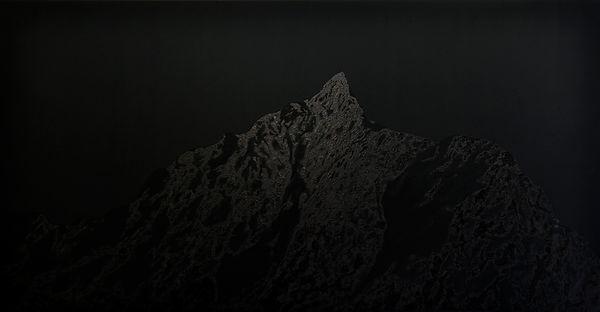 Patricia Sandonis art, Künstlerhaus Dortmund, Big format Painting, Großformatige Malerei, Lack on canvas, Devil´s Peak Captown