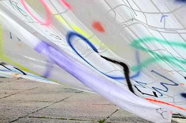 Patricia Sandonis art in public space, Creart, Arte en Valladolid, contemporary painting, contemporary artist spain, Berlin artist, Pintura contemporánea, pintura de gran formato