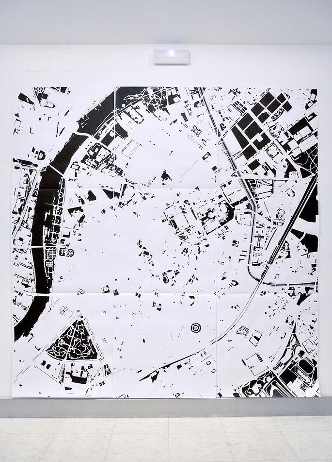 Patricia Sandonis digitale Zeichnung, Digital drawing, art urbanismus, arte en Valladolid, FMC