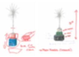 Dibujos fundación Botin, drawings, taller de Cristina Iglesias, monument, antimonument, art and nature, fundacion botin, art in santander, participatory art project