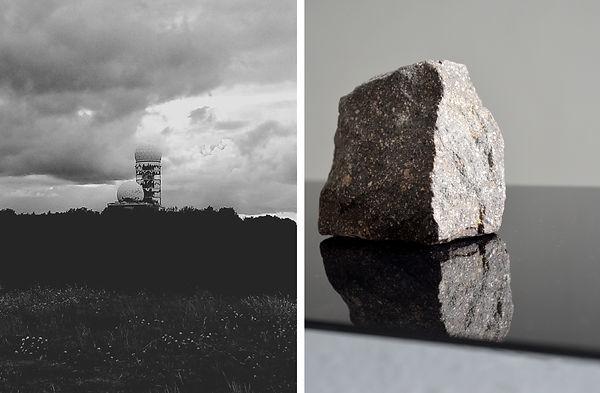 Patricia Sandonis art, Kunst Berlin, Teufelsberg, Black and white photography, Art installation