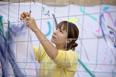 Patricia Sandonis art in public space, Creart, Arte en Valladolid, artist portrait