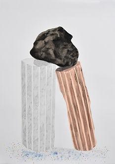 Contemporary drawing, psitions berlin art fair, Patricia Sandonis, art in Berlin, Villa Massimo Rom