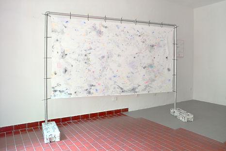 Patricia Sandonis, painting, contemporary art Berlin, young artists Belin, Exhibition Berlin, Centrum, art and plastic, Kunst und plastik, Berlin Kunst, art and memory, das Kiez Monument, participatory art Berlin