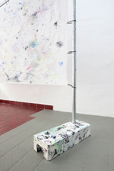 Centrum_Patricia Sandonis Kunst Berlin Monument contemporary art painting