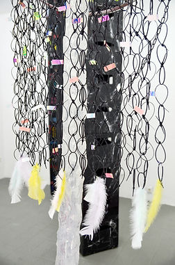 Patricia Sandonis, painting, contemporary art Berlin, young artists Belin, Exhibition Berlin, Centrum, art and plastic, Kunst und plastik, Das Kiez Monument, art and memory, collective memory, Berlin Kunst