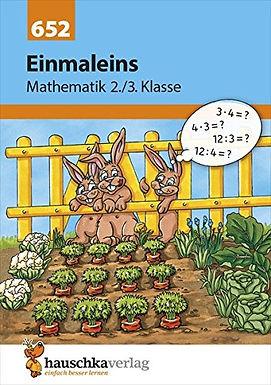 Mathematik: Einmaleins, 2./3. Klasse