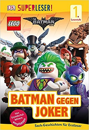 SUPERLESER! LEGO® BATMAN gegen JOKER (1. Kl)