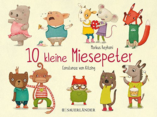 10 kleine Miesepeter